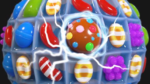 Candy crush - Substance Designer