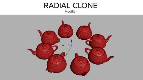 Radial Clone modifier