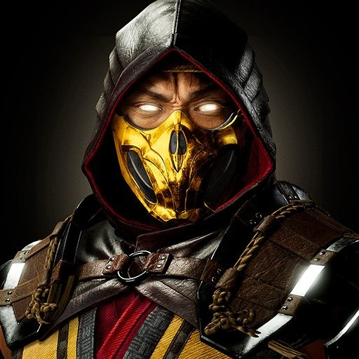 Artstation Scorpion Half Mask From Mortal Kombat 11