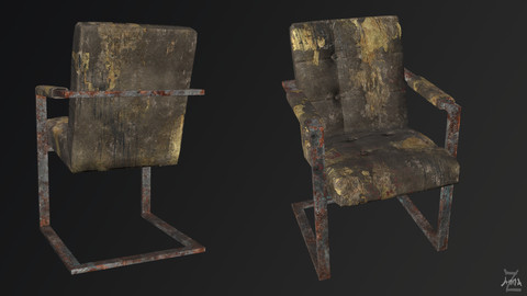 The Post-apocalyptic modern chair