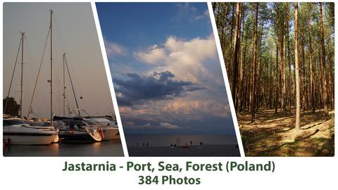 Jastarnia - Port, Sea, Forest (384 Photos)