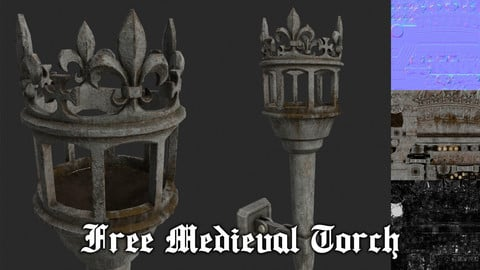 Free Medieval Torch