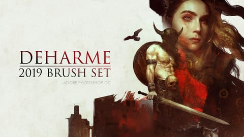 Deharme Brush Set