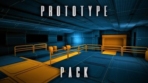 Unreal Engine - SciFi Prototype Pack