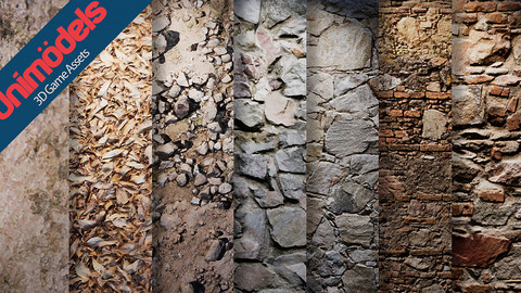 Uniodels Stonewalls Vol. 3 For Unreal Engine 4