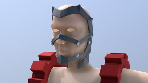 Kirishima Eijirou, Mask & Shoulder Gears- 3D Printable Files