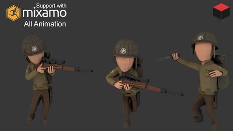 WW2 US Rifleman