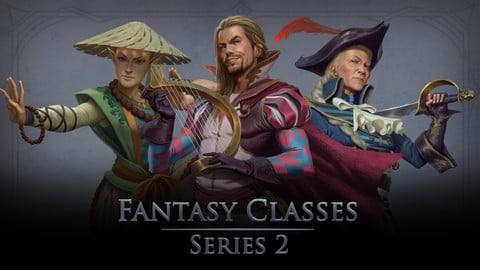 Stock Art | Fantasy Classes - Series 2