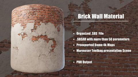 Substance - Brick Wall Material