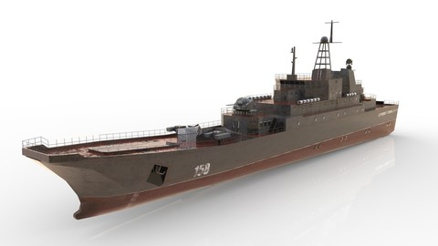 Ropucha Class Landing Ship