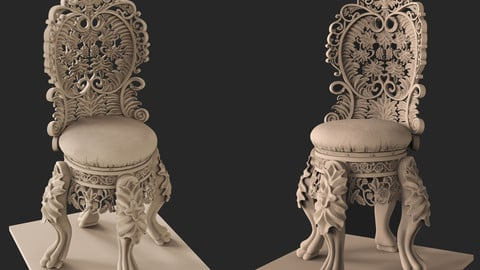 Carving Chair