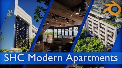 SHC Modern Apartments Complete Asset Pack