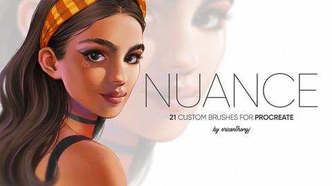 NUANCE -  21 Procreate Painting Brushes