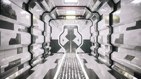 Sci Fi Corridor AK