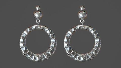 Jewelry stone earrings
