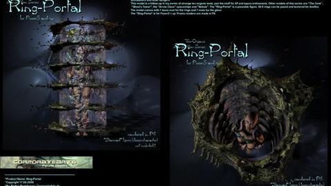Ring Portal (Poser / DAZ rig)