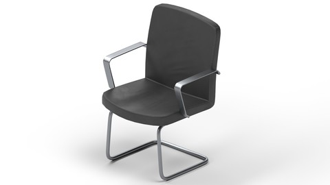 Game-Ready Chair with 4K-PBR Texture Set