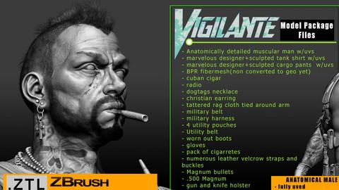 Vigilante Soldier Hi-resolution model pack