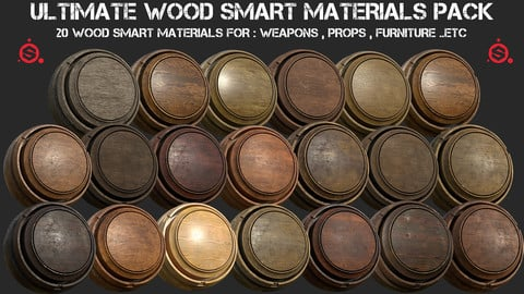 Ultimate wood smart materials pack