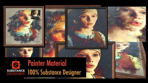 Painter Material - 100% Substance Designer