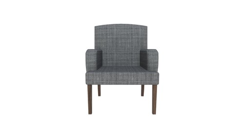 Game-Ready Armchair with 4K-PBR Texture Set