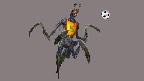 Alien Football Player