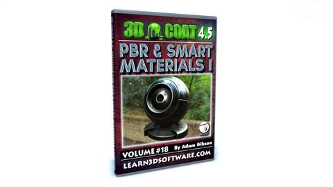 3D Coat V4-Vol.#18 -PBR & Smart Materials I