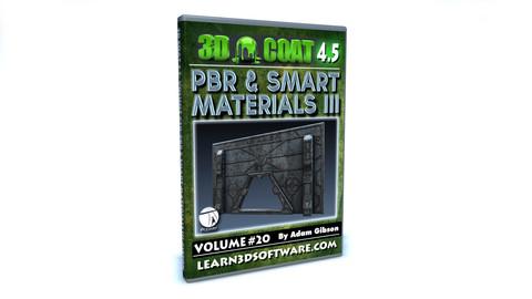 3D Coat V4-Vol.#20 -PBR & Smart Materials III