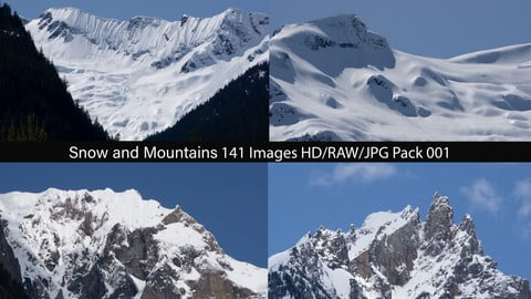 Snow and Mountains Pack 001