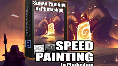 Speedpainting In Photoshop