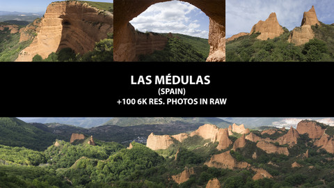 Las Medulas (Spain) +100 6K res. photos in RAW