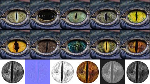 Creature Eye Textures - Vol 02