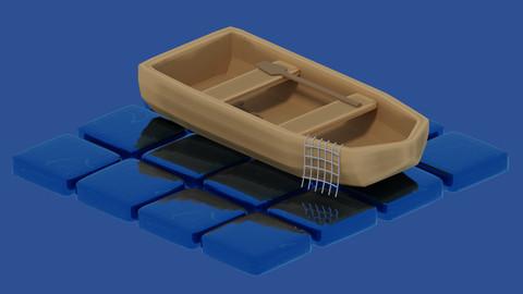 Boat - 3D