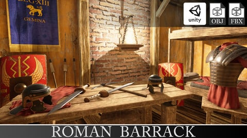 Roman Barrack Building