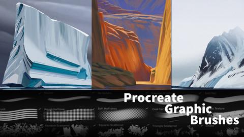 Maurycy's Procreate Graphic Brushes