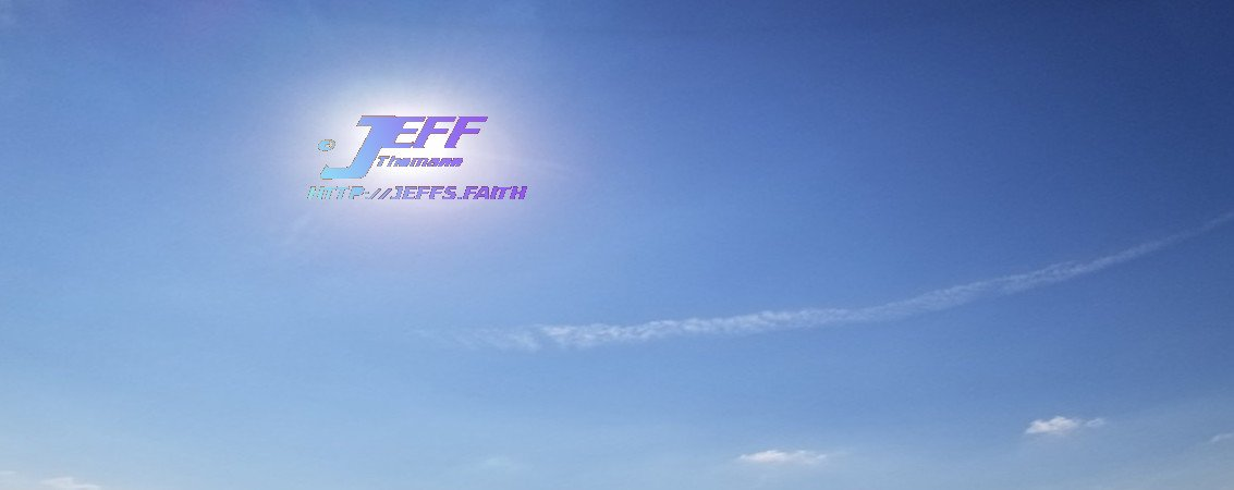 Happy Contrails by Jeff Thomann