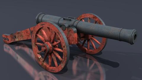 XVIII Century field cannon