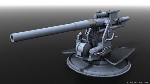 QF 120mm Mk VIII naval gun