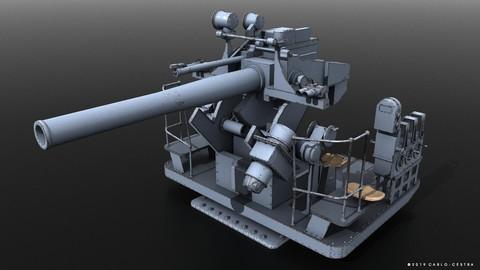5-inch 25-caliber Mark 10 anti-aircraft gun