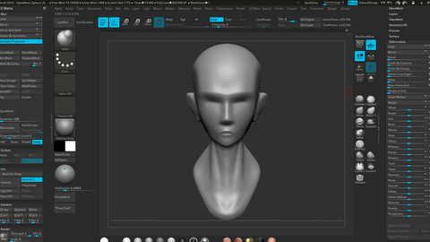 Hassan Base Stylized Head  V.1