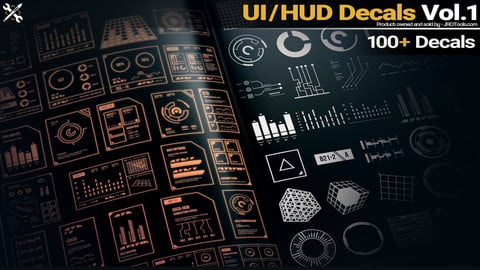 UI/HUD Decals Vol.1