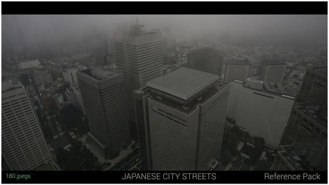 Japan City Streets Reference Pack