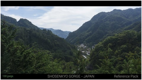 Shosenkyo Gorge - Japan Reference Pack