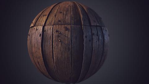 Wood Plank | Substance Designer Material + Video