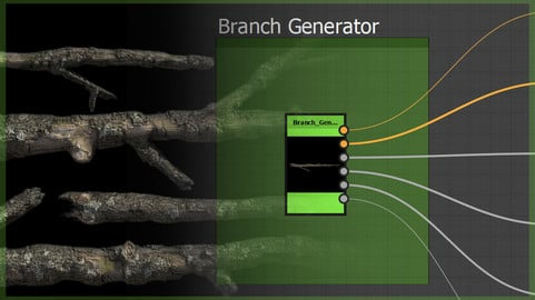 Procedural Branch Generator