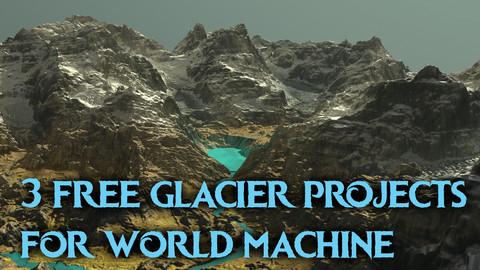 3 free glacier environments for World Machine