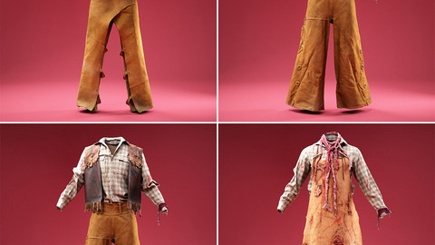 4 Cowboy Costumes