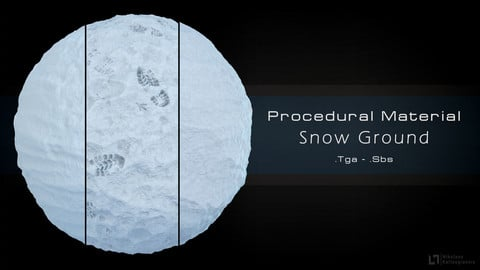 Procedural Snow Material - 3 Variations!