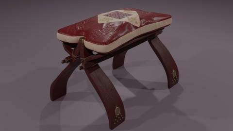 Egyptian stool