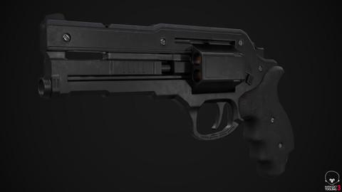 Revolver (Game Ready)